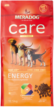 Meradog Care Dog Food - Energy - Wheat-Free Formula