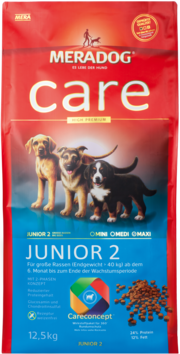 Meradog Care Puppy Food - Junior 2 - Wheat-Free Formula
