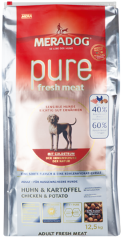 Meradog High Premium Pure - Fresh Meat Chicken & Potato - Grain-Free
