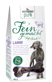 Meradog Pure Fein Gemacht Soft Snacks - Grain-Free Lamb