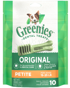 Greenies Treatpak Petite Dog Treats (2 sizes)