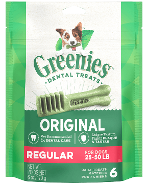 Greenies Treatpak Regular Dog Treats (2 sizes)