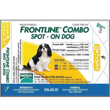 Load image into Gallery viewer, Frontline Combo Spot On Dog (2 Sizes)