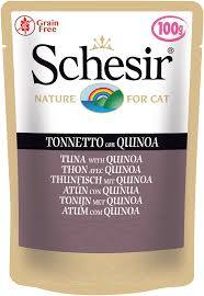 Schesir Tuna with Quinoa Cat Food Pouch 100g