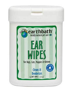Earthbath All Natural Specialty Ear Wipes For Pet 25ct