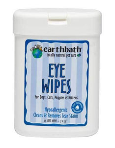 Earthbath All Natural Specialty Eye Wipes for Pet 25ct