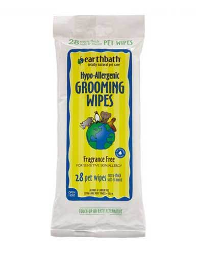 Earthbath Hypo-Allergenic Grooming Wipes for Dog (2 Sizes) | Waggymeal Online Pet Store MY