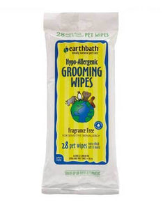 Earthbath Hypo-Allergenic Grooming Wipes for Dog (2 Sizes)