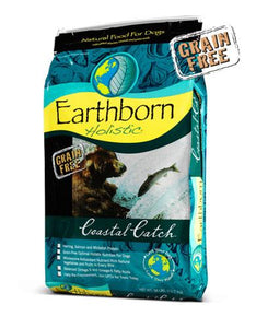 Earthborn Holistic Natural Grain Free Coastal Catch Dry Dog Food (2 Sizes)