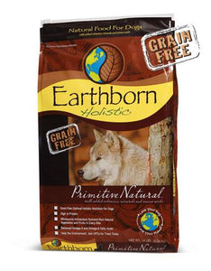 Earthborn Holistic Natural Grain Free Primitive Natural Dry Dog Food (2 Sizes)