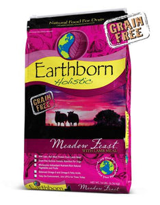 Earthborn Holistic Natural Grain Free Meodow Feast Lamb Dry Dog Food (2 Sizes)
