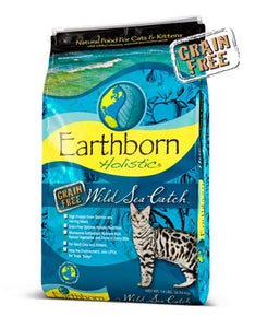 Earthborn Holistic Natural Grain Free Wild Sea Catch Cat Dry Food (3 Sizes)