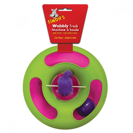 Funtime! Toys Plastic Wobbly Cat Track For Cat