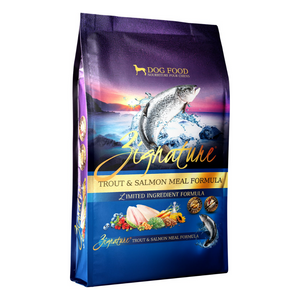 Zignature Trout & Salmon Formula Dog Food (3 Sizes)