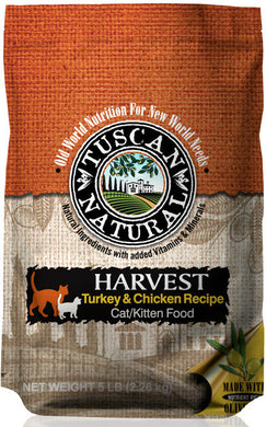 Tuscan Natural Harvest Turkey & Chicken Recipe Cat/Kitten Food