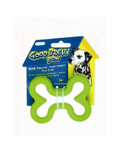 JW Pet Good Breath Bone Dog Toys (3 Size)
