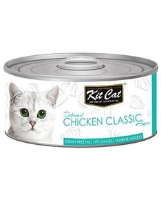 Kit Cat Deboned Chicken Classic Wet Food 80g