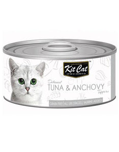 Kit Cat Deboned Tuna & Anchovy Wet Food 80g