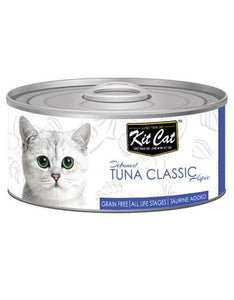Kit Cat Deboned Tuna Classic Wet Food 80g