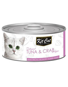 Kit Cat Deboned Tuna & Crab Wet Food 80g