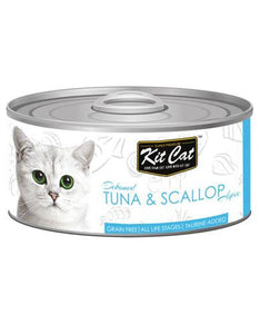 Kit Cat Deboned Tuna & Scallop Wet Food 80g
