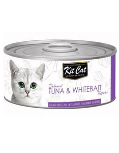 Kit Cat Deboned Tuna & Whitebait Wet Food 80g