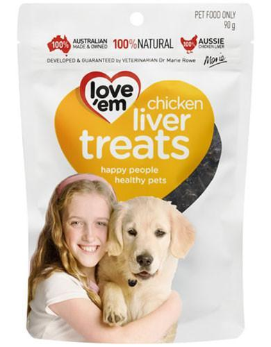 love 'em chicken liver treats for Dogs | Waggymeal Online Pet Store Malaysia