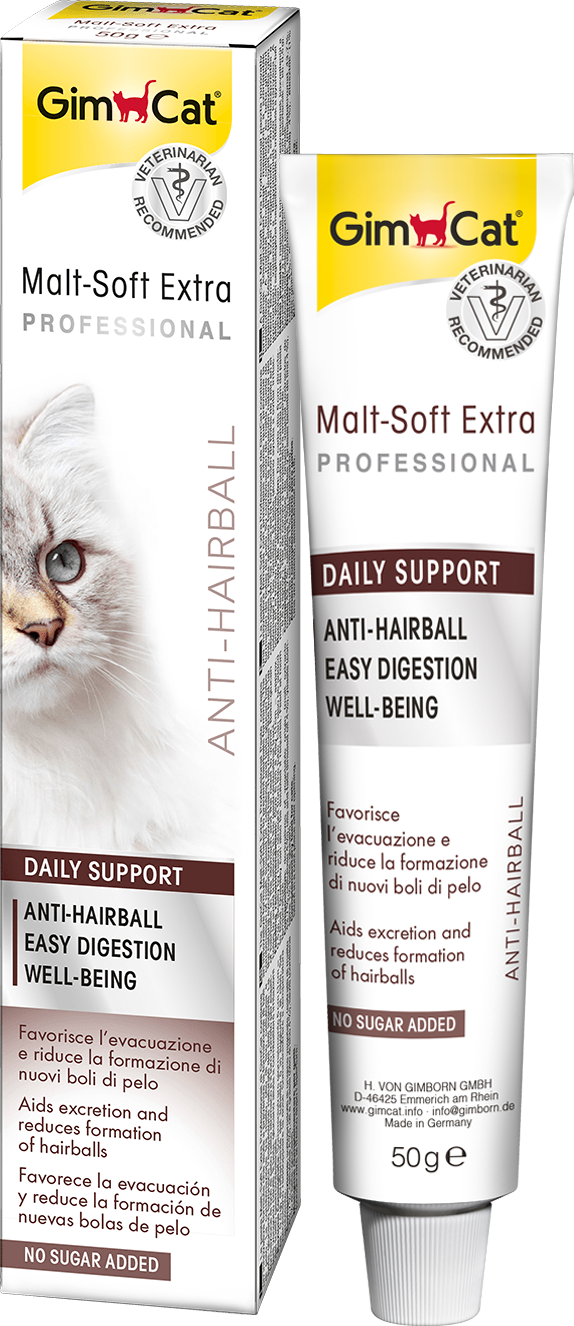 GimCat Malt-Soft Extra Professional Cat Paste 50g