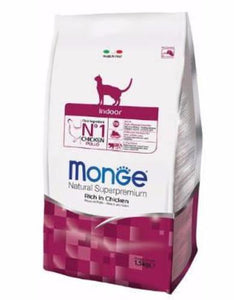 Monge Indoor Dry Cat Food (2 sizes)