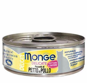 Monge Delicate Chicken Cat Wet Food