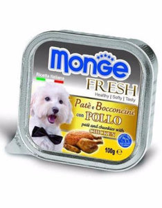 Monge Fresh Chicken Dog Wet Food