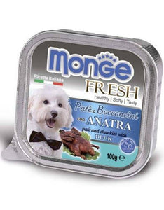 Monge Fresh Duck Dog Wet Food