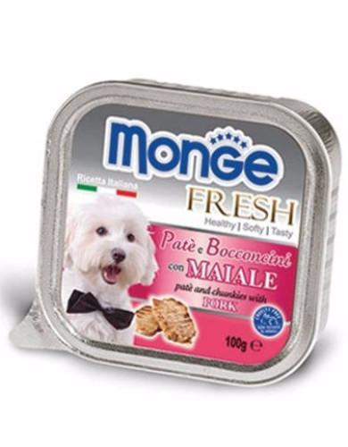 Monge Fresh Pork Dog Wet Food | Waggymeal Online Pet Store MY