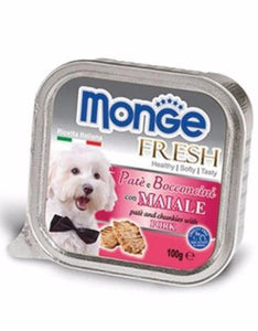 Monge Fresh Pork Dog Wet Food