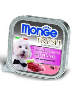 Monge Fresh Tuna Dog Wet Food