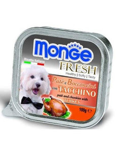 Monge Fresh Turkey Dog Wet Food (4 Sizes)