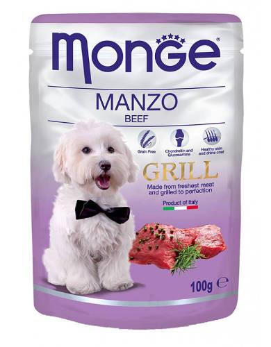 Monge Grill Beef Dog Wet Food | Waggymeal Online Pet Store MY