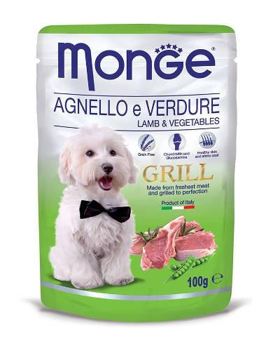 Monge Grill Lamb & Vegetable Dog Wet Food | Waggymeal Online Pet Store MY