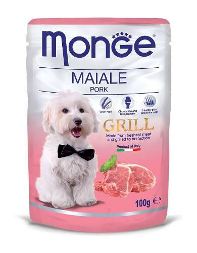 Monge Grill Pork Dog Wet Food | Waggymeal Online Pet Store MY
