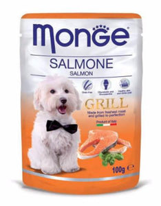 Monge Grill Salmon Dog Wet Food (4 Sizes)