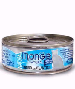 Monge Natural Atlantic Tuna Cat Wet Food