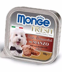 Monge Fresh Beef Dog Wet Food (4 Sizes)