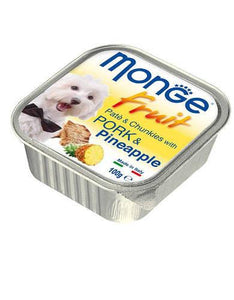 Monge Fruits Pork & Pineapple Dog Wet Food (4 Sizes)