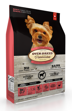 Oven-Baked Tradition Lamb & Brown Rice Small-Breed Adult Dog Dry Food (2.27 Kg)