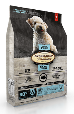 Oven-Baked Tradition Grain Free Fish Adult Small Breed Dog Dry Food (2.27 Kg)