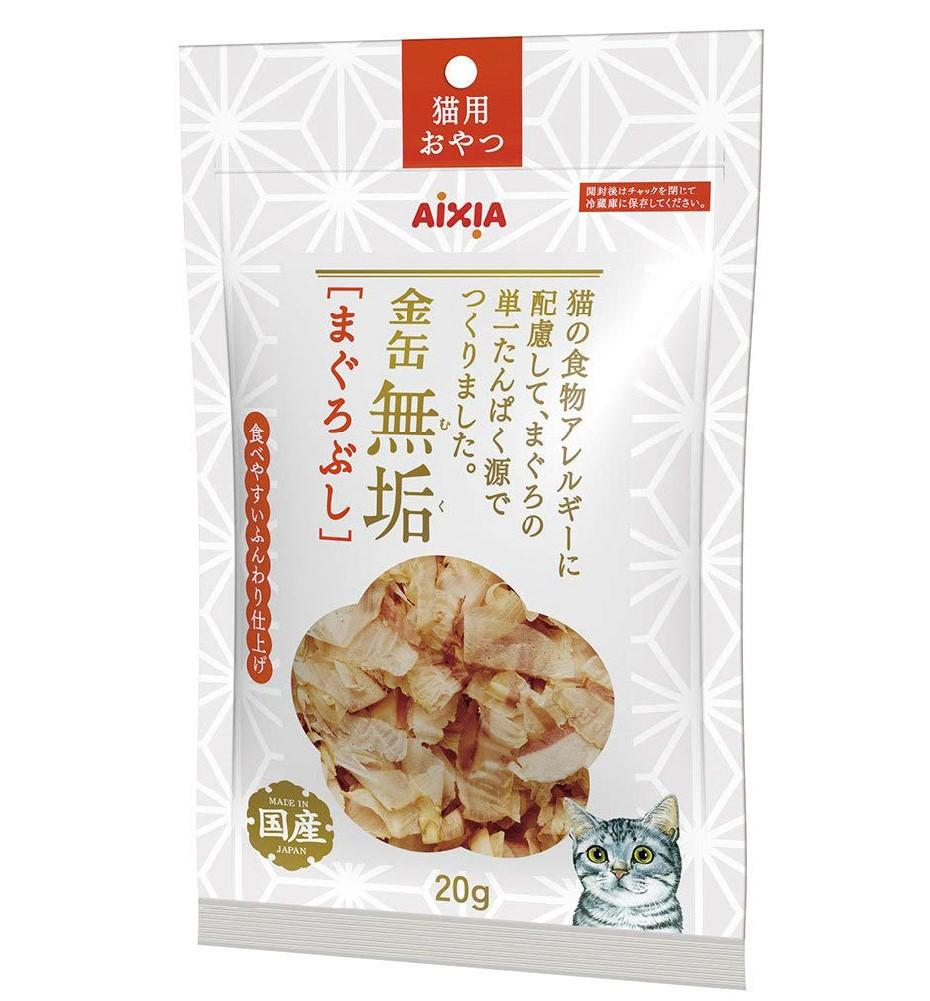 Aixia Kin-can Pure Dried Tuna Dried Flakes Topping for Cats (20g)