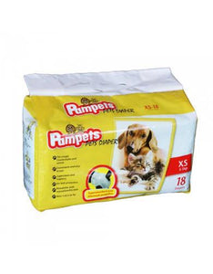 Pampets Pet Diapers ( 5 Size )