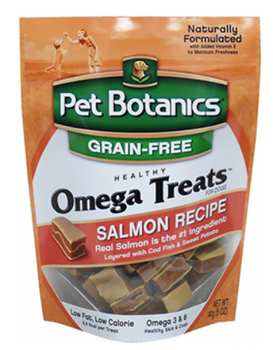 Pet Botanics Omega Dog Treat - Grain Free, Salmon | Waggymeal Online Pet Store MY