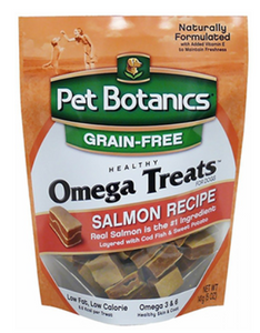 Pet Botanics Omega Grain-Free Salmon Dog Treat (3 Sizes)
