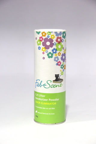 Fab Scent Odor Eliminator Powder For Cat (500g)